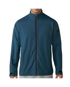 Adidas ClimaStorm Softshell Full Zip Jacket Petrol Night