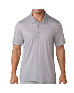 Adidas Club Cotton-Hand Mini Stripe Polo Mid Grey Heather