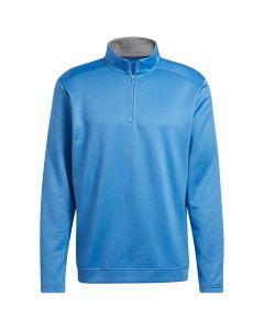 Adidas FW21 Club Quarter Zip Pullover Focus Blue