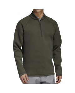 Adidas Club Quarter-Zip Sweater Legend Earth