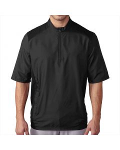 Adidas Club Short Sleeve Wind Jacket Black