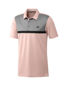 Adidas Colorblock Novelty Polo Pink Tint