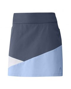 Adidas FW19 Women's Color-Block Skort Tech Ink