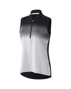 Adidas FW20 Women's Ultimate365 Engineered Stripe Sleeveless Polo