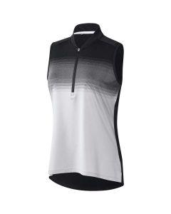 Adidas FW20 Women's Ultimate365 Engineered Stripe Sleeveless Polo