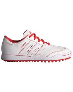 Adidas Juniors AdiCross V Golf Shoes White/Core Pink