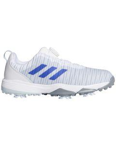 Adidas Juniors Codechaos BOA Golf Shoes White/Night Flash