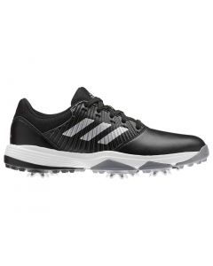 Adidas Juniors CP Traxion Golf Shoes Black/Silver