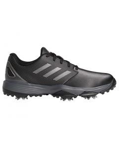 Adidas Juniors Zg21 Golf Shoes Black Profile