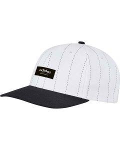 Adidas Pinstripe Hat White