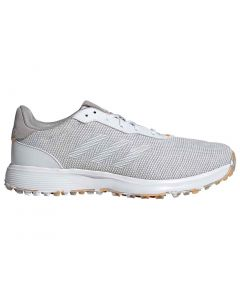Adidas S2g Golf Shoes Grey White Profile