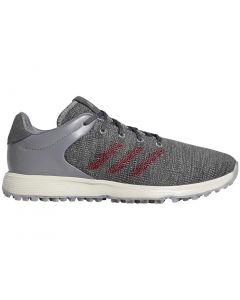 Adidas S2G Golf Shoes Grey/Burgundy