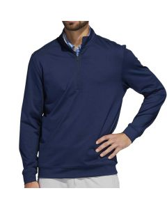 Adidas SS19 Classic Club 1/4 Zip Pullover Collegiate Navy