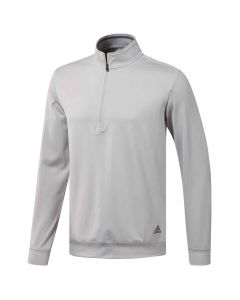 Adidas Classic Club 1/4 Zip Pullover Grey Two