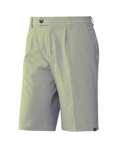 Adidas SS19 Ultimate365 Gingham Plaid Shorts Yellow