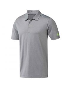 Adidas SS19 Ultimate365 Heather Polo Grey Three