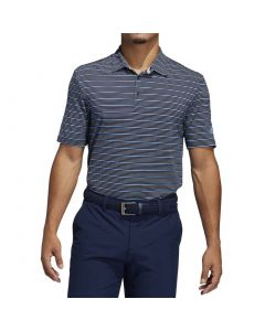 Adidas Ss20 Ultimate365 Pencil Stripe Polo Collegiate Navy