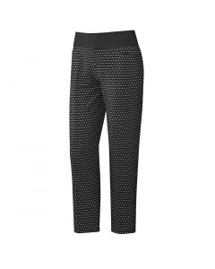 Adidas Ss20 Womens Ultimate365 Printed Pull On Ankle Pants Black
