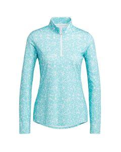 Adidas Ss21 Womens Primegreen Aeroready Long Sleeve Shirt Acid Mint