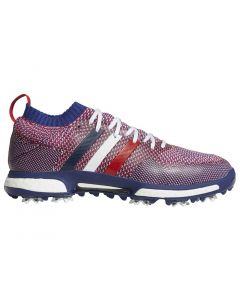 Adidas Tour360 Knit Golf Shoes White/Scarlet