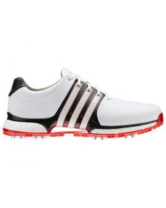 Adidas Tour360 XT Golf Shoes White/Black/Red