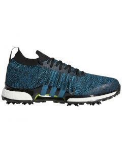 Adidas Tour360 XT Primeknit Golf Shoes Black/Teal