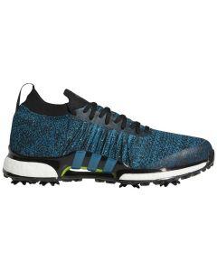Adidas Tour360 XT Primeknit Golf Shoes Black/Teal
