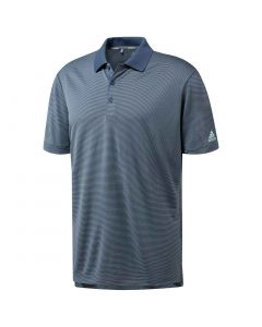 Adidas Ultimate365 2-Color Stripe Polo | Tech Ink | SM Tech Ink