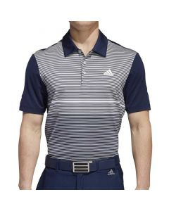 Adidas Ultimate365 Color Block Merch Polo Collegiate Navy