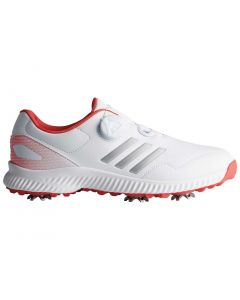Adidas Women's Response Bounce BOA Golf Shoes White/Red