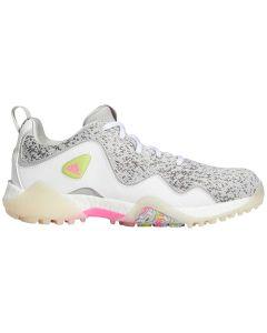 Adidas Women's Codechaos 21 Golf Shoes White/Pink/Grey
