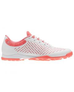 Adidas Women's AdiPure Sport 2.0 Golf Shoes White/Red Zest
