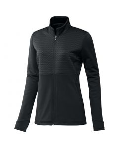 Adidas Womens Cold Rdy Full Zip Jacket Black Front