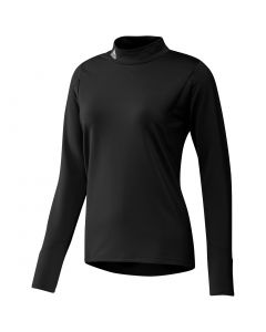 Adidas Womens Cold Rdy Longsleeve Mock Black