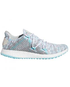 Adidas Women's CrossKnit DPR Golf Shoes White/Hazy Sky