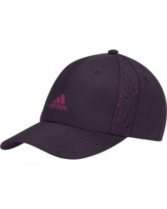 Adidas Womens Performance Perforated Hat Noble Purple Front