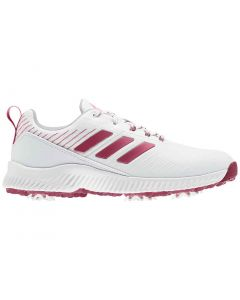 Adidas Women's Response Bounce 2.0 Golf Shoes White/Wild Pink