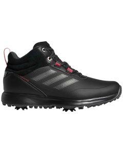 Adidas Womens S2g Mid Cut Golf Shoes Black Profile