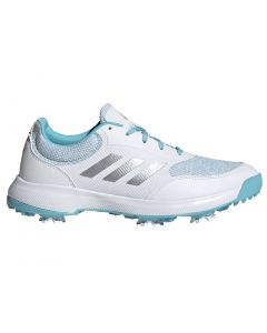 Adidas Women's Tech Response Golf Shoes White/Silver/Hazy Sky