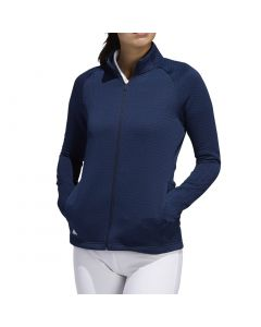 Adidas Women's Textured Layer Jacket Collegiate Navy