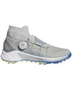 Adidas Womens Zg21 Motion Boa Golf Shoes Grey Two Profile