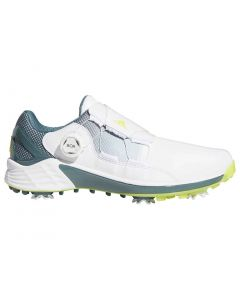 Adidas Zg21 Boa Golf Shoes White Acid Yellow Profile