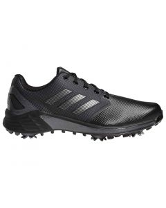 Adidas Zg21 Golf Shoes Black Dark Silver Profile