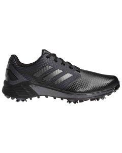 Adidas Zg21 Golf Shoes Black Dark Silver Profile
