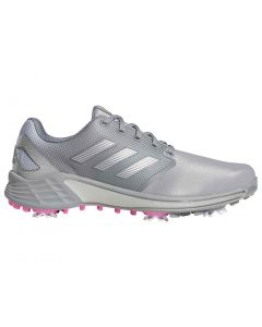 Adidas Zg21 Golf Shoes Grey Scream Pink Profile