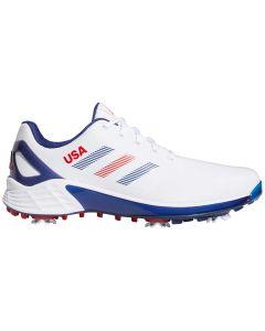 Adidas ZG21 Golf Shoes White/Victory Blue