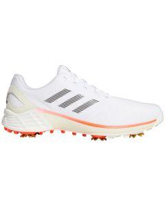 Adidas Zg21 Tokyo Golf Shoes White Black Red Profile