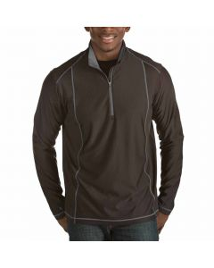 Antigua Tempo Pullover Black Steel