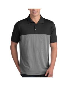 Antigua Venture Polo Black White