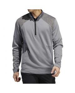 Apparel Adidas Cold Rdy Quarter Zip Pullover Grey Three